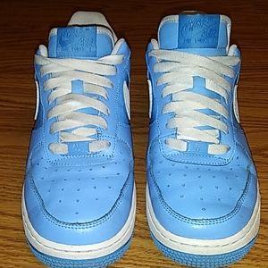 Nike Air Force 1 Baby Blue AF 1 82 Sz 8